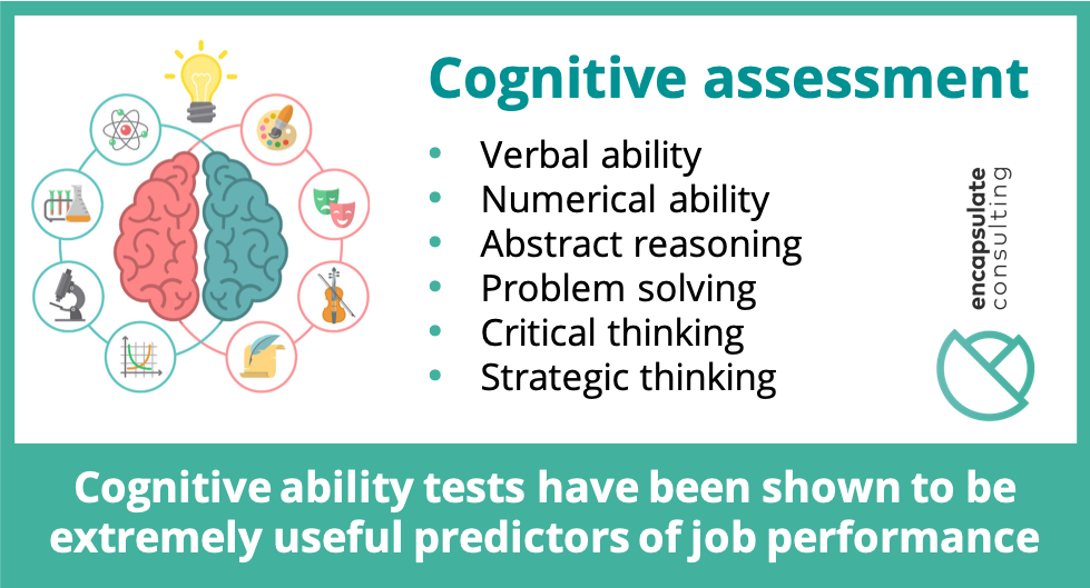 The value of Cognitive Assessments