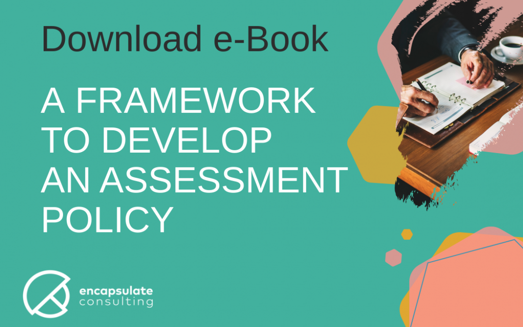 eBook – A Framework to Develop an Assessment Policy