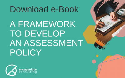 eBook – A Framework to Develop an Assessment Policy